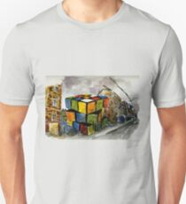 Rubix Cube in a Vacant Lot T-Shirt