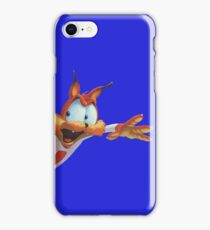 Bubsy popping into view iPhone Case/Skin