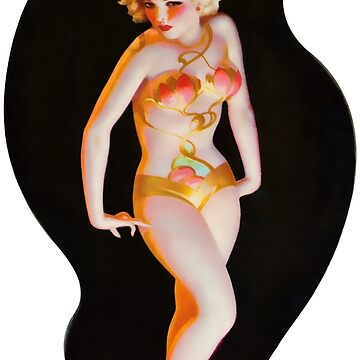 TASTY® Follies Pinup Girl from the 20's by Deadscan