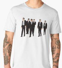 Camiseta premium para hombre Reservorio Perros - Caminando
