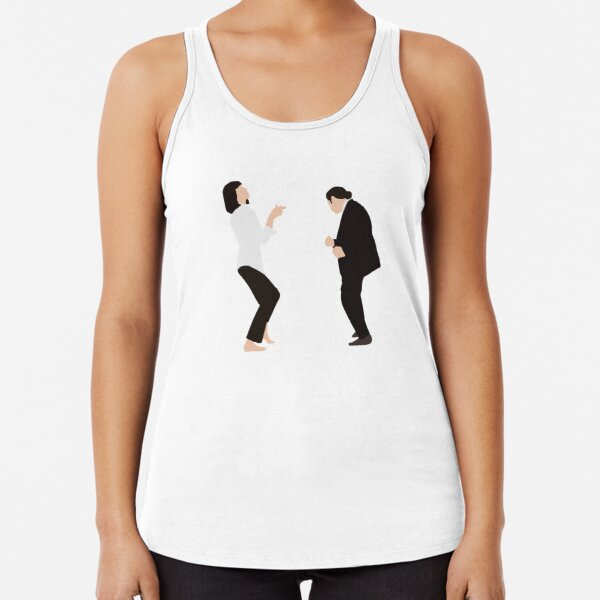Pulp Fiction - Dance Racerback Tank Top
