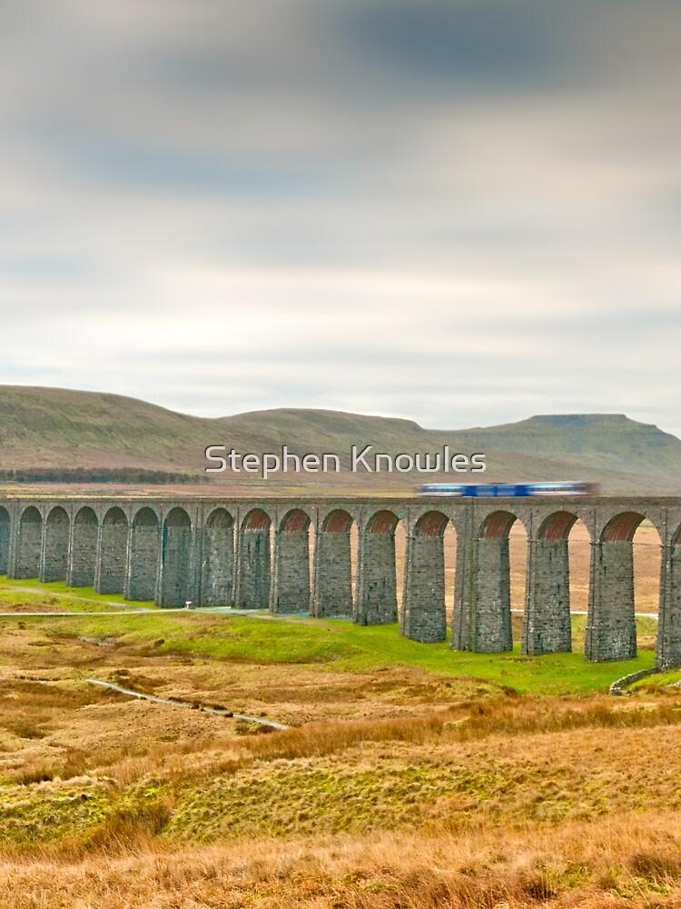 Ribblehead, Ingleborough and Train by stephenknowles