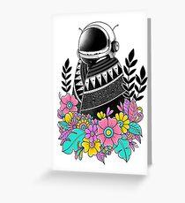 Botanical Space Greeting Card