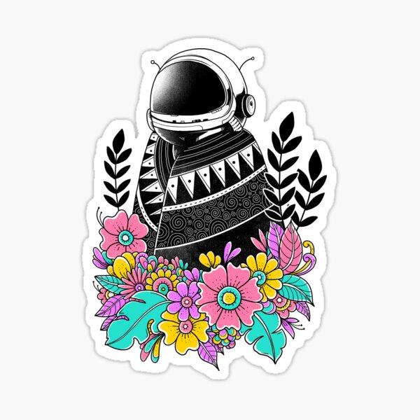Botanical Space Sticker