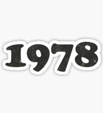 1978 Sticker