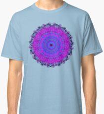 Purple Psyche Mandala Classic T-Shirt