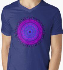 Purple Psyche Mandala Men's V-Neck T-Shirt