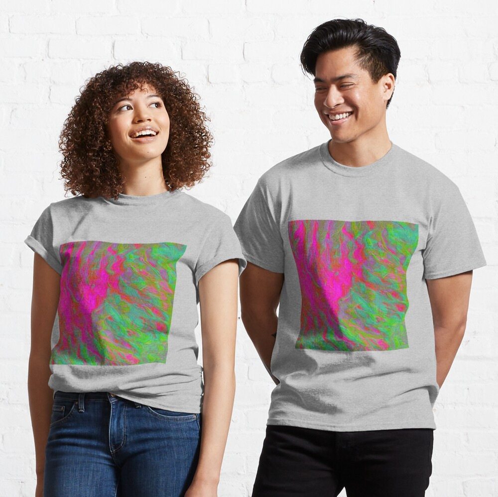 Abstract digital painting Classic T-Shirt