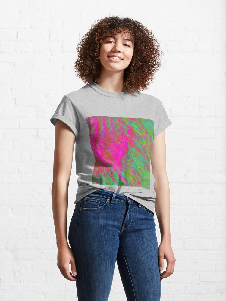 Alternate view of Abstract digital painting Classic T-Shirt