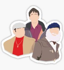 'Only Fools and Horses' Vector Artwork Sticker