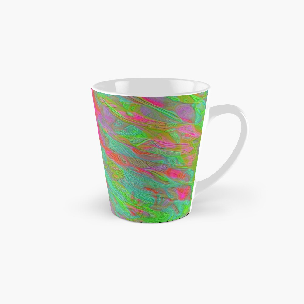 Abstract digital painting Mug
