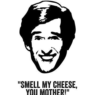 "Alan Partridge ""Smell my Cheese"" Quote by ComedyQuotes"