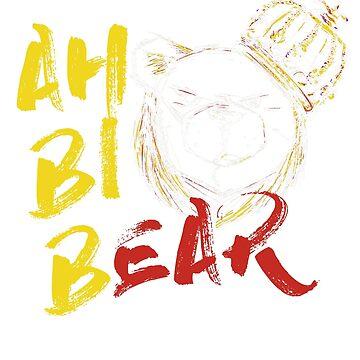 ROBUST BEAR AH BI BEAR WHITE by Robust