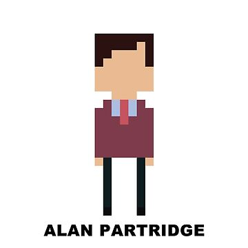 Alan Partridge Mini-figure  by ComedyQuotes