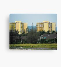 Jamaica Hotels Canvas Print