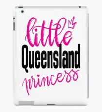 Little Queensland Princess Australia Raised Me iPad Case/Skin