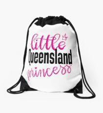 Little Queensland Princess Australia Raised Me Drawstring Bag
