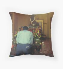 Prayers at the Silver Pagoda Throw Pillow