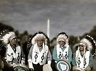National Monuments - Four Chiefs on the Mall by Wayne King