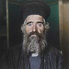 Rev. Joseph Vasilon, Greek-Orthodox priest - Ellis Island, 1907 by Marina Amaral