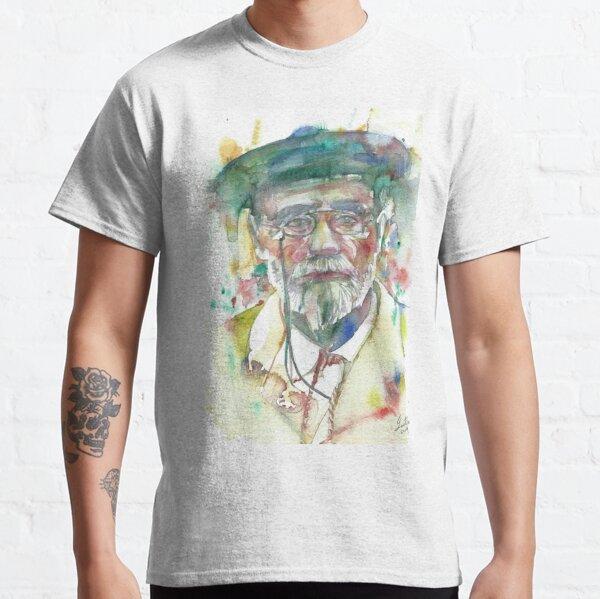 EMILE ZOLA - portrait à l'aquarelle .1 T-shirt classique