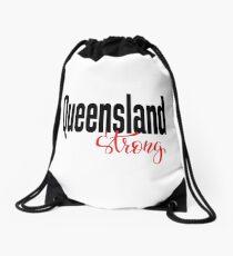 Queensland Strong Australia Raised Me Drawstring Bag