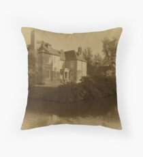 Vintage Groomsbridge Place Throw Pillow