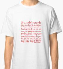 Red Dwarf Lyrics Classic T-Shirt