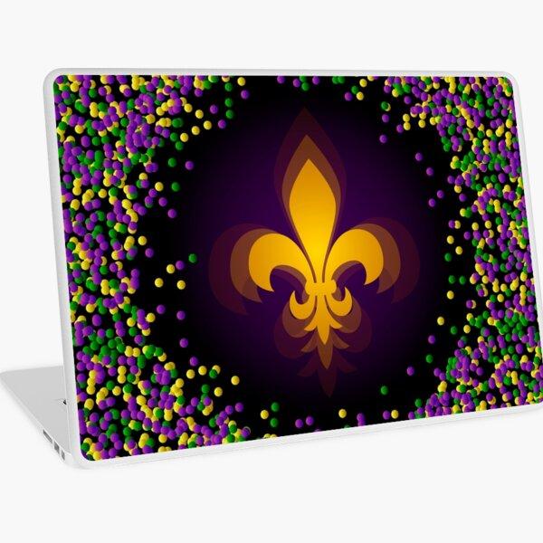 Mardi Gras Laptop Skin