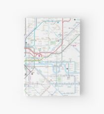 London tube map Hardcover Journal