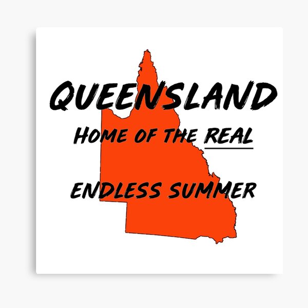 Queensland Australia. Where it's summer 364 days a year! Canvas Print