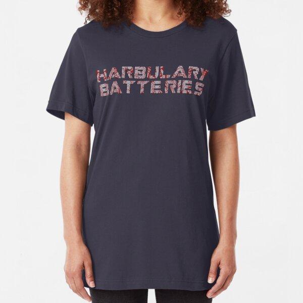 Harbulary Batteries Slim Fit T-Shirt