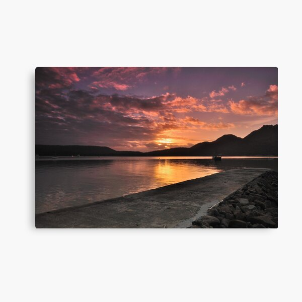 Sunrise at Coles Bay Canvas Print