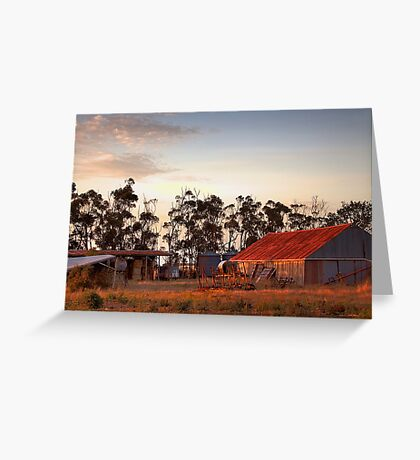 The sheds Greeting Card