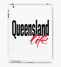 Queensland Life Australia Raised Me iPad Case/Skin