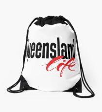 Queensland Life Australia Raised Me Drawstring Bag