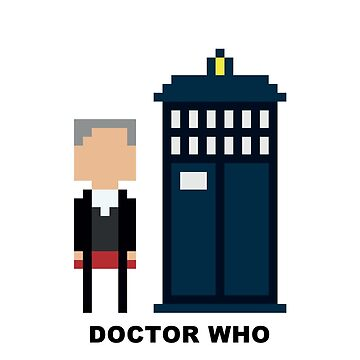 Dr Who Mini-figure  by ComedyQuotes