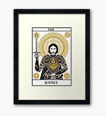 Justice Framed Print