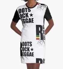 Roots Rock Reggae T-Shirt Kleid