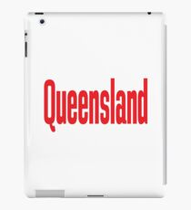 Queensland Australia Raised Me iPad Case/Skin