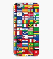 The World's Flags iPhone Case