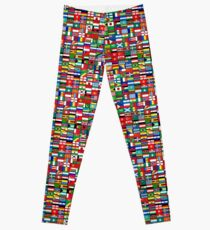 The World's Flags Leggings