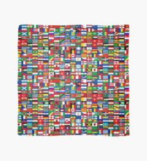 The World's Flags Scarf