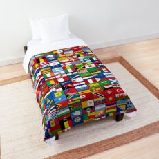 The World's Flags Comforter