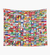 The World's Flags Wall Tapestry