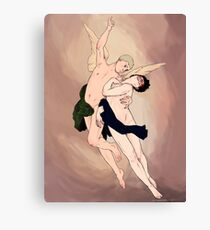 The Abduction Of Holmes Canvas Print