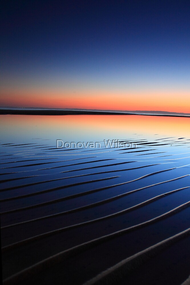 Dawn,s Ripple . by Donovan Wilson