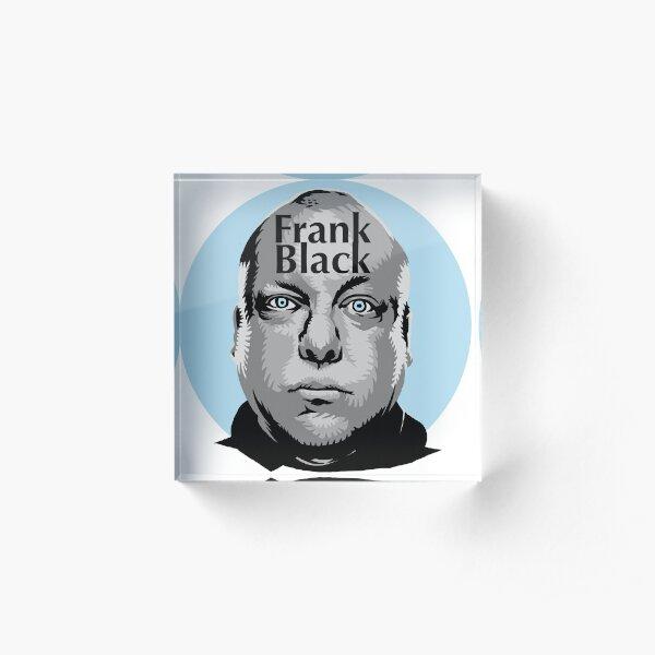 Pixies Frank Black T-Shirt Acrylic Block