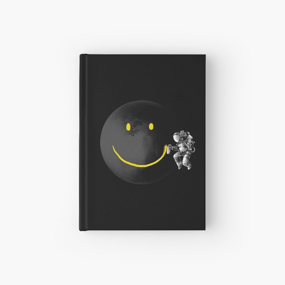 Make a Smile Hardcover Journal