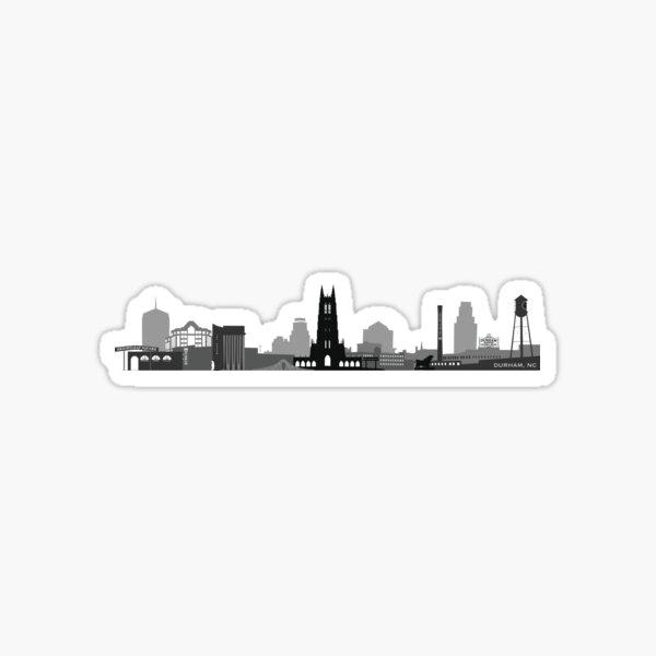 Durham Skyline Sticker
